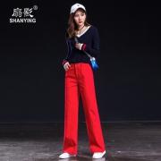 2019春季新款显瘦百搭显瘦休闲直筒长裤 券后¥166.51¥167