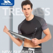 Trespass 夏季新款防晒运动速干休闲T恤 多款39元包邮(需领券)