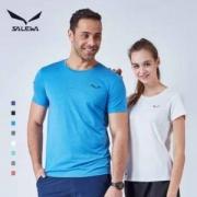 Salewa 沙乐华 情侣款户外速干短袖T恤 多色新低89元包邮(需领30元优惠券)