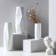 佳佰 质感纹理系列 陶瓷花瓶组合 纹山+海纹+皱纸 *2件 +凑单品108.6元包邮(合54.3元/件)
