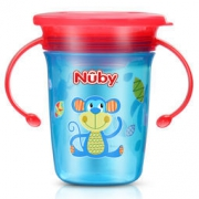 Nuby 努比 360度魔术学饮杯 240ml 59元