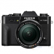 富士(FUJIFILM)    X-T20 无反相机套机(XF 18-55mm F2.8-4 R LM OIS镜头)