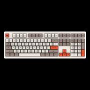 Akko 艾酷 3108 v2 机械键盘 蒸汽机配色 (Cherry红轴、SA球帽)