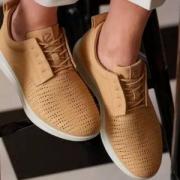 Ecco 爱步 Aquet 女士轻质透气真皮休闲鞋 $57.99