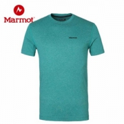 Marmot 土拨鼠 男女户外运动吸湿排汗速干短袖 F51820