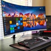 AOC曲面2K显示器32英寸曲屏游戏PS4吃鸡台式电脑液晶屏幕高清电竞无边框CQ32V1超薄HDMI壁挂护眼4K壁挂27 1279元¥1279