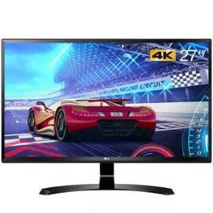 LG 27UD58-B 27英寸 4K IPS显示器(3840×2160、FreeSync)