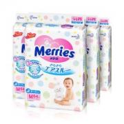 Merries 妙而舒 婴儿纸尿裤 M64片 4包装