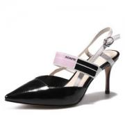 Luiza Barcelos 漆皮性感高跟尖头单鞋 3色