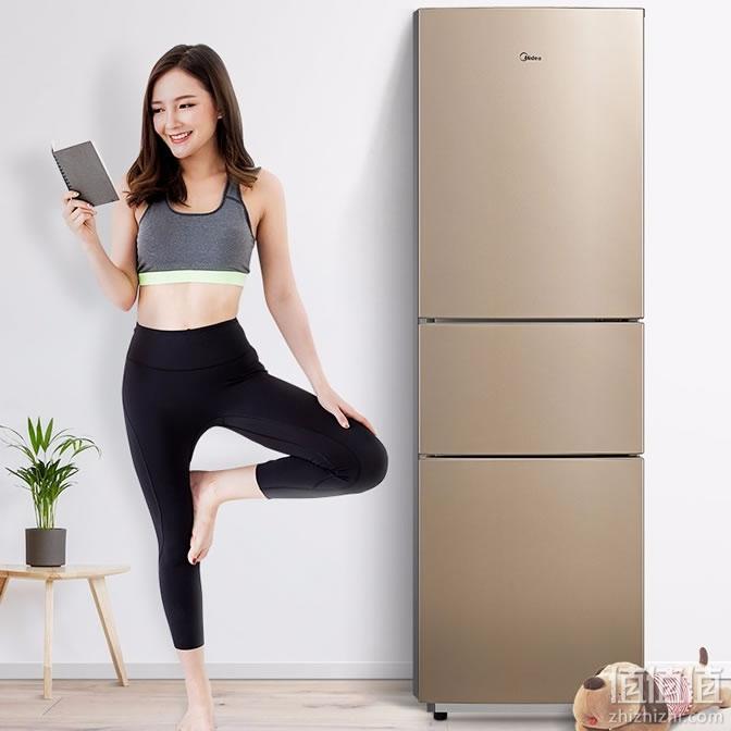 美的 BCD-210TM(E) 三门冰箱