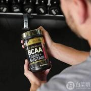 Optimum Nutrition 欧普特蒙 金标 BCAA支链氨基酸266g 草莓猕猴桃味 Prime会员凑单免费直邮含税