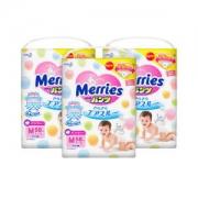 Merries 妙而舒 婴儿拉拉裤 M58片 *4件 +凑单品