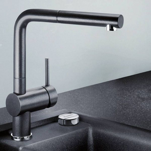 国内¥4299,Blanco 铂浪高 Linus-S系列 516688 可抽拉式厨房龙头 Prime会员免费直邮含税