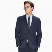 INTERIGHT 男士羊毛混纺西装外套 *3件1026.9元(合342.3元/件)