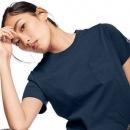 M码,日版 Champion 冠军牌 CW-M321 女士圆领口袋短袖T恤 Prime会员凑单免费直邮含税到手新低113.58元