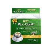 UCC 职人挂耳咖啡粉 126g 18袋 59.9元,可优惠至20元59.9元,可优惠至20元