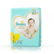 Pampers 帮宝适 一级系列 婴儿纸尿裤 S号 76片 *5件450元包邮(需用券,合90元/件)