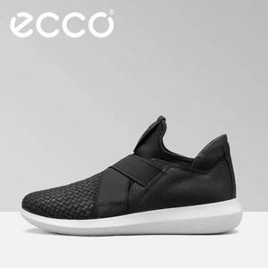 ECCO 爱步 Scinapse 赛速 男士弹力松紧带休闲鞋450614 两色