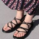 限尺码,Teva Voya Infinity 女士轻便绑绳舒适凉鞋 prime会员凑单免费直邮到手219.15元