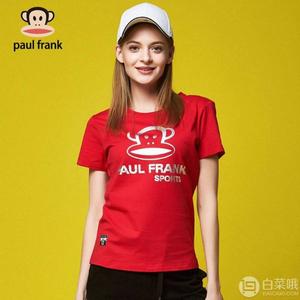 Paul Frank 大嘴猴 女式纯棉短袖T恤 多款