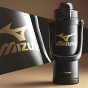 Zojirushi象印 美津浓合作款 SD-BX20不锈钢真空保冷水壶 2L 黑色