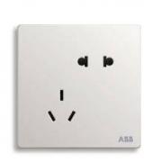 ABB 轩致系列 AF205 五孔插座 单只
