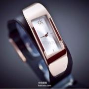 Calvin Klein 卡尔文·克雷恩 Embody 系列 K3C236G6 手镯式时装女表 史低$75(需用码)