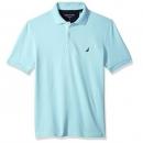 M码,Nautica 诺帝卡 男士纯色珠地棉POLO衫 Prime会员免费直邮到手184.02元