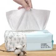 欧凯曼洗脸巾女纯棉一次性美容面巾纸抽取式化妆擦脸斤洁面巾专用