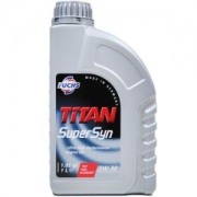 Fuchs 福斯 泰坦 Super Syn 5W-30 全合成机油 1L 德国原装进口 *5件185.84元(合37.17元/件)