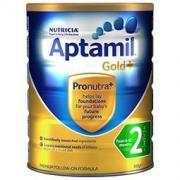 Aptamil 爱他美 金装 婴儿奶粉 2段 900g *2件  296.99元包邮包税