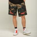 THETHING设计潮牌男士休闲迷彩短裤男 五分中裤宽松夏季运动薄款186元