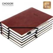 CHOGORI 巧客 绑带笔记本 A5/100张 送签字笔 *3件