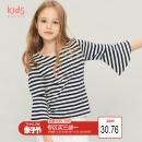 maxwin女中大童女童半袖体恤纯棉儿童短袖T恤上衣夏季173343103 20.76元¥21