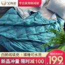 中国羽协保障产品 艾尚羽 可水洗轻薄鹅绒被 夏凉被 1.5m*2.1m 199元包邮¥199