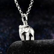 Lily charmed 吉祥小象 925银项链189元包邮包税