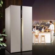 Midea 美的 BCD-621WKPZM(E) 621L 对开门冰箱 送水壶