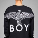 明星款潮牌 Boy London 伦敦男孩 Boy Grosgrain 纯棉中性款拉链卫衣2351001史低299元包邮