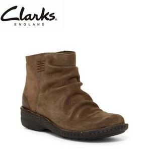 限US5.5码,Clarks 其乐 女士翻毛皮踝靴 Prime会员凑单直邮含税