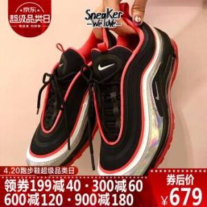 Nike Air Max 97 黑红镭射 实付到手679元