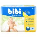 FIVERAMS 五羊 fbibi 智能干爽婴儿纸尿裤 M码26片 *16件253.6元包邮(合15.85元/件)