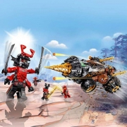 LEGO 乐高 Ninjago 幻影忍者系列 70669 大地忍者寇的巨型钻头战车298元包邮(多重优惠)