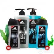 adidas 阿迪达斯 男士沐浴套装(激情600ml+冰点600ml+激情250ml+冰点250ml)