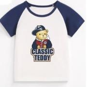 Classic Teddy 精典泰迪 儿童短袖t恤 *4件