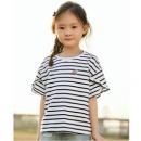 INMAN 茵曼 女童条纹T恤  28元包邮28元包邮