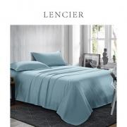 LENCIER 兰叙 60支长绒棉贡缎单件床单 1.5m/1.8m床