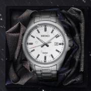 SEIKO 精工 SUR273P1 男士时装腕表