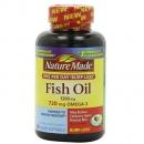 Nature Made 天维美 Omega-3鱼油1200mg*120粒 Prime会员凑单免费直邮含税到手136元