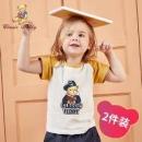 CLASSIC TEDDY 精典泰迪 儿童纯棉短袖T恤 *2件34.9元包邮(券后)