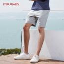 优衣库制造商,Maxwin 马威 男式素色家居休闲短裤 多色49元包邮(需领券)